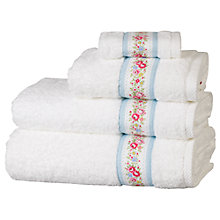 Buy Cath Kidston Lace Stripe Towels Online at johnlewis.com