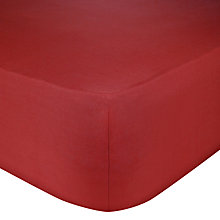 Buy John Lewis Perfectly Smooth 200 Thread Count Egyptian Cotton Fitted Sheet Online at johnlewis.com