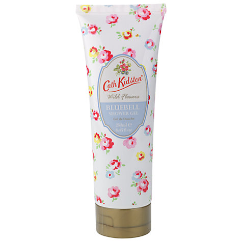 Buy Cath Kidston Bluebell Shower Gel, 250ml Online at johnlewis.com