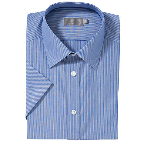 Buy John Lewis Fine Stripe Short Sleeve Shirt Online at johnlewis.com