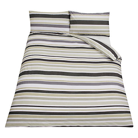 Buy John Lewis Value Spot and Stripe Pack of 2 Duvet Cover and Pillowcase Sets Online at johnlewis.com