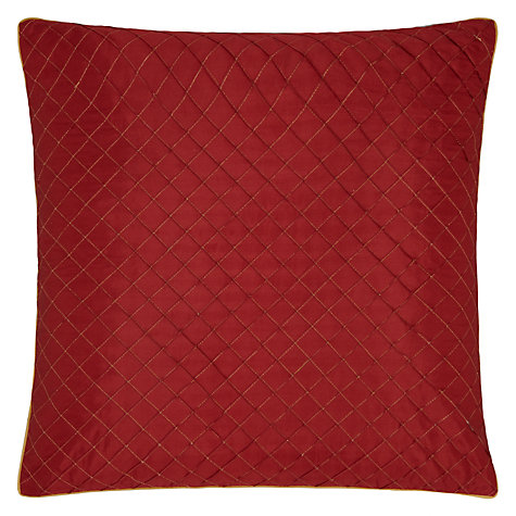 Buy John Lewis Diamond Lattice Cushion Online at johnlewis.com