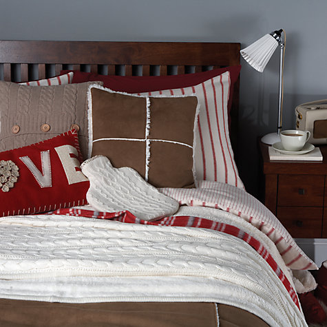 Buy John Lewis Logan Flannelette Bedding Online at johnlewis.com