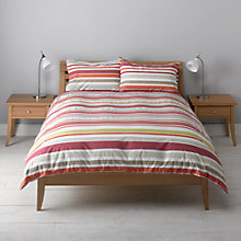 Buy John Lewis The Basics Spot and Stripe Pack of 2 Duvet Cover and Pillowcase Sets Online at johnlewis.com