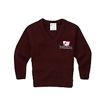 Buy Blossomfield Nursery and Infant School Boys' Jumper, Maroon Online at johnlewis.com
