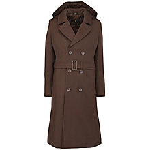 Buy School Girls' Raincoat, Brown Online at johnlewis.com