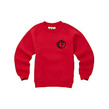 Buy East Fulton Primary School Unisex Years 1 - 4 Sweatshirt, Red Online at johnlewis.com