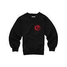 Buy East Fulton Primary School Unisex Years 5 - 7 Sweatshirt, Black Online at johnlewis.com