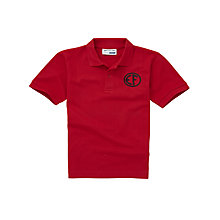 Buy East Fulton Primary School Unisex Years 5 - 7 Polo Shirt, Red Online at johnlewis.com
