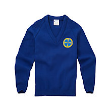 Buy Greig City Academy Unisex Pullover, Royal Blue Online at johnlewis.com