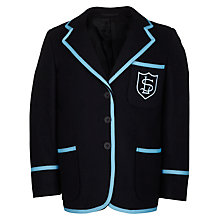 Buy Lairdsland Primary School Girls' Blazer, Navy Online at johnlewis.com