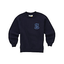 Buy Lairdsland Primary School Unisex Sweatshirt, Navy Online at johnlewis.com