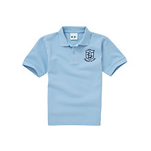 Buy Lairdsland Primary School Unisex Polo Shirt, Sky Blue Online at johnlewis.com