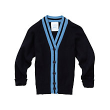 Buy Lairdsland Primary School Girls' Cardigan, Navy Online at johnlewis.com