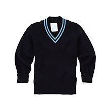 Buy Lairdsland Primary School Boys' Pullover, Navy Online at johnlewis.com