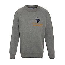Buy Our Lady of Lourdes Catholic Primary School, New Southgate Unisex Sweatshirt, Grey Online at johnlewis.com