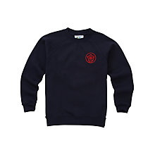Buy Queen Elizabeth's Girls' School Sports Sweatshirt Online at johnlewis.com