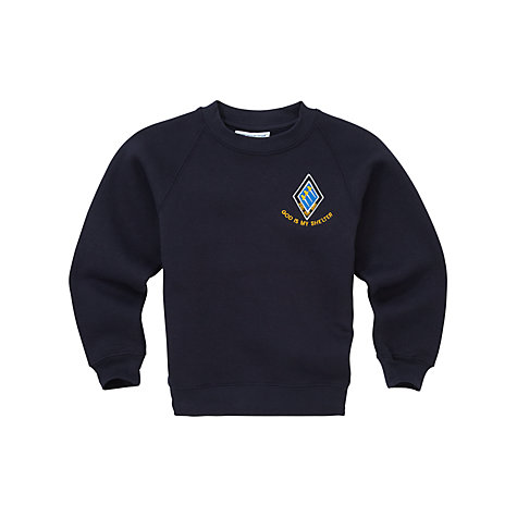 Buy St Bernards's Preparatory School Unisex Tracksuit Top, Navy Online at johnlewis.com