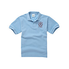 Buy St Edwards RC Primary School Unisex Polo Shirt, Sky Blue Online at johnlewis.com