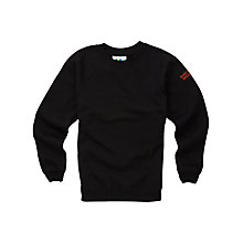 Buy St Roch's Secondary School Unisex Sweatshirt, Black Online at johnlewis.com