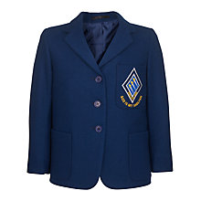Buy St Bernard's Preparatory School Girls' Blazer, Royal Blue Online at johnlewis.com