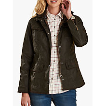Buy Barbour Utility Waxed Jacket Online at johnlewis.com