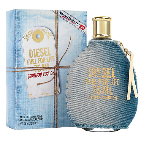 Buy Diesel Fuel for Life Denim for Her Eau de Toilette, 75ml Online at johnlewis.com