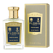 Buy Floris White Rose Eau de Toilette Natural Spray, 50ml Online at johnlewis.com