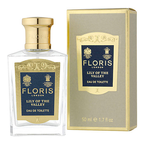 Buy Floris Lily of the Valley Eau de Toilette Natural Spray, 50ml Online at johnlewis.com