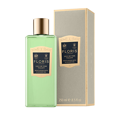 Buy Floris Lily of the Valley Moisturising Bath and Shower Gel, 250ml Online at johnlewis.com