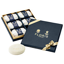 Buy Floris Luxury Soap Collection, 6 x 100g Online at johnlewis.com