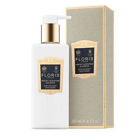 Buy Floris Night Scented Jasmine Enriched Body Moisturiser, 250ml Online at johnlewis.com