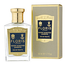 Buy Floris Night Scented Jasmine Eau de Toilette Natural Spray, 50ml Online at johnlewis.com