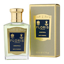 Buy Floris Seringa Bath Essence, 50ml Online at johnlewis.com