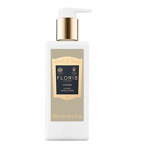 Buy Floris Cefiro Luxury Hand Lotion, 250ml Online at johnlewis.com