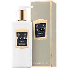 Buy Floris Cefiro Enriched Body Moisturiser, 250ml Online at johnlewis.com