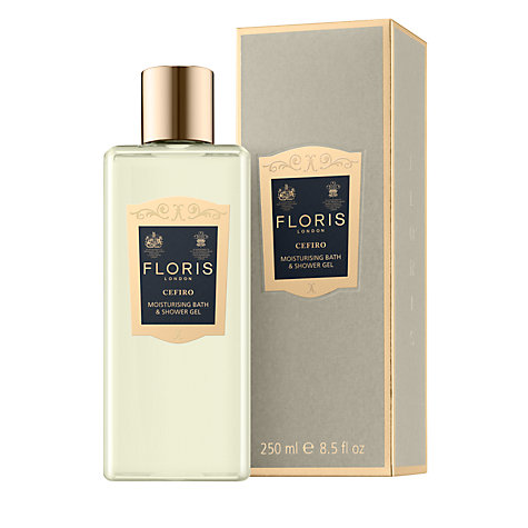 Buy Floris Cefiro Moisturising Bath and Shower Gel, 250ml Online at johnlewis.com