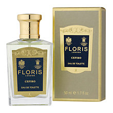Buy Floris Cefiro Eau de Toilette Natural Spray, 50ml Online at johnlewis.com