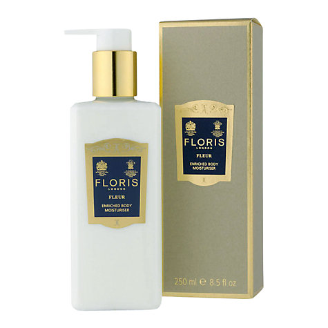 Buy Floris Fleur Enriched Body Moisturiser, 250ml Online at johnlewis.com