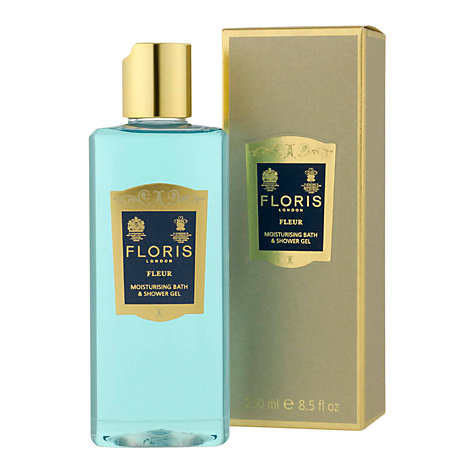 Buy Floris Fleur Moisturising Bath and Shower Gel, 250ml Online at johnlewis.com