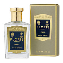 Buy Floris Fleur Eau de Toilette Natural Spray, 50ml Online at johnlewis.com