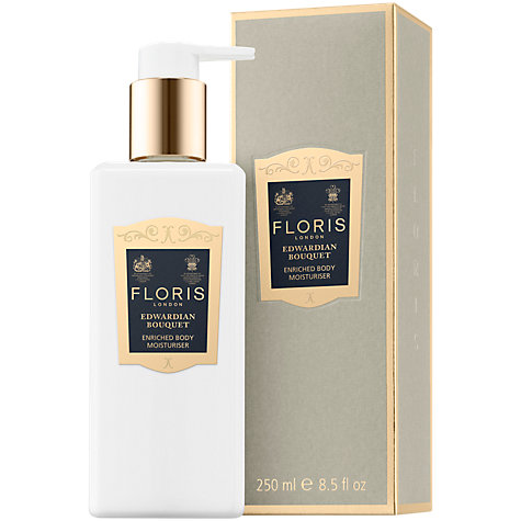 Buy Floris Edwardian Bouquet Enriched Body Moisturiser, 250ml Online at johnlewis.com