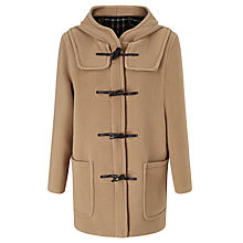 Buy Gloverall Classic Mid-Length Duffle Coat, Tan Online at johnlewis.com
