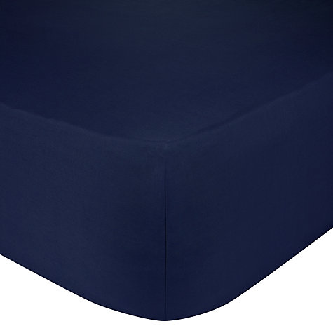 Buy John Lewis Luxury Egyptian Cotton 200 Thread Count Fitted Sheets Online at johnlewis.com