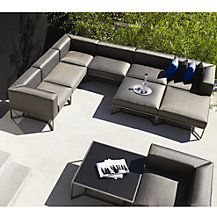 Gloster Bloc Outdoor Furniture, White