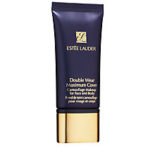 Buy Estée Lauder Double Wear Maximum Cover Makeup, Medium Deep Online at johnlewis.com