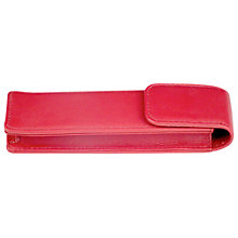Buy Leather Double Pen Pouch Online at johnlewis.com