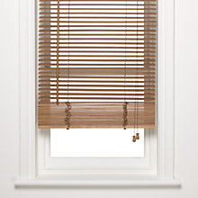 Buy John Lewis Wood Venetian Blind, 25mm Online at johnlewis.com