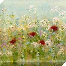 Buy Sue Fenlon- Summer Garden Print on Canvas, 40 x 40cm Online at johnlewis.com