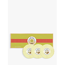 Buy Roger & Gallet Fleur d'Osmanthus Soap Coffret, 3 x 100g Online at johnlewis.com